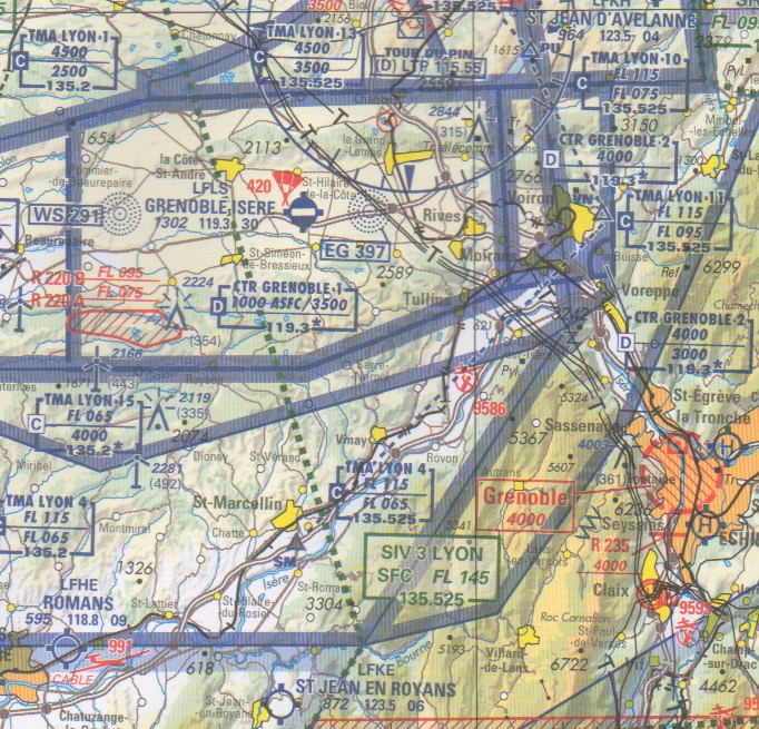 Map 0f South Of France.Fly In France Charts Plates
